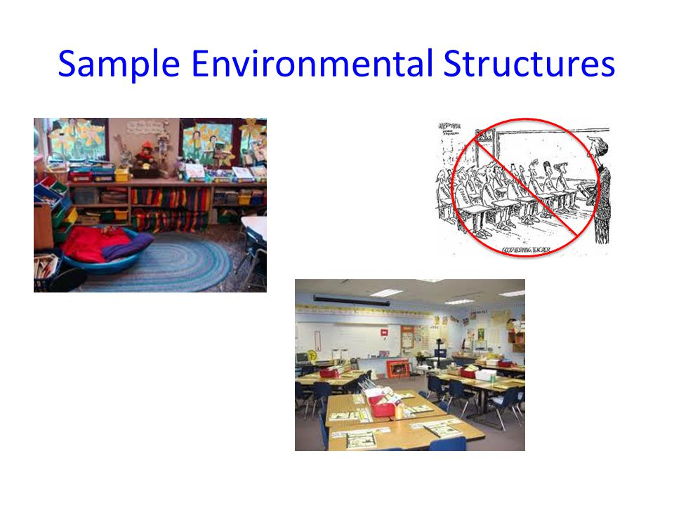 Sample Environmental Structures
