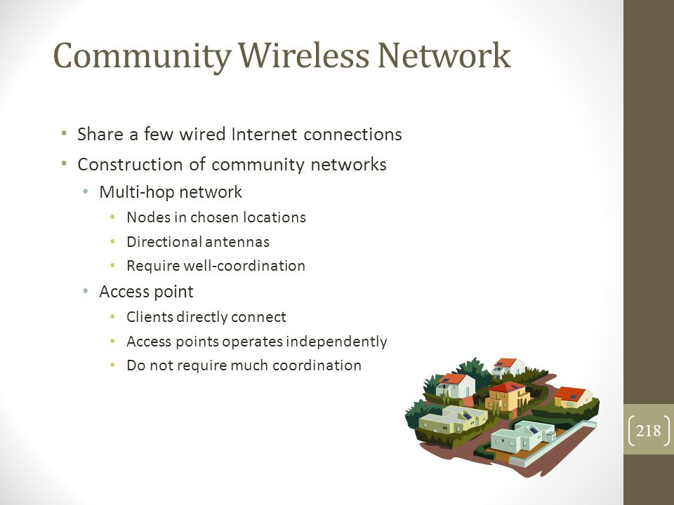 Community Wireless Network