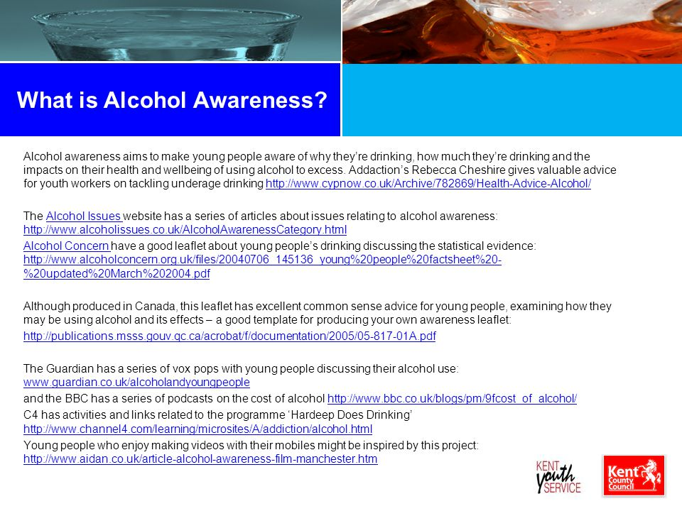 What is Alcohol Awareness