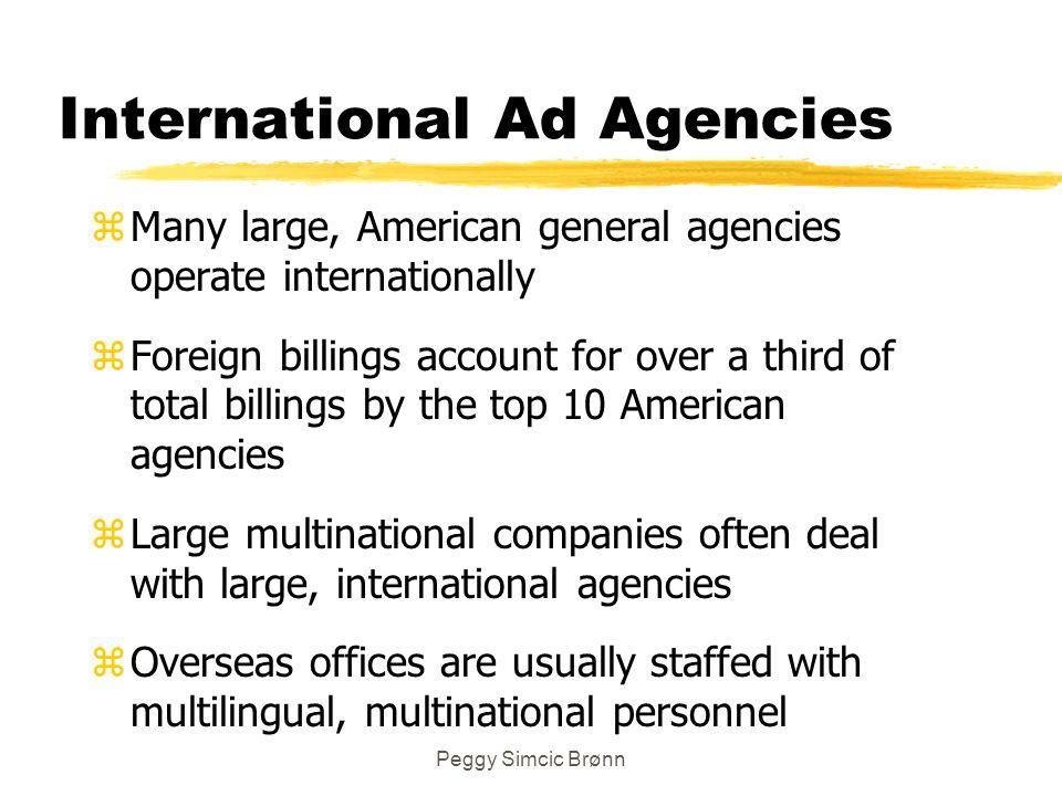 International Ad Agencies