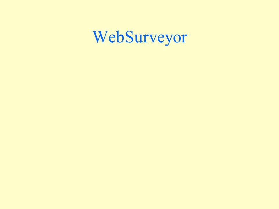 WebSurveyor