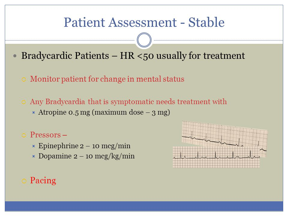 Patient Assessment - Stable