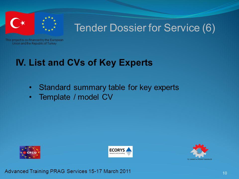 Tender Dossier for Service (6)