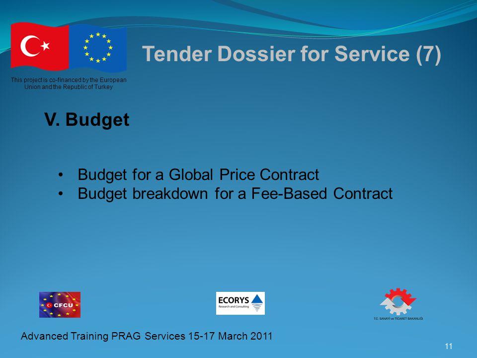 Tender Dossier for Service (7)