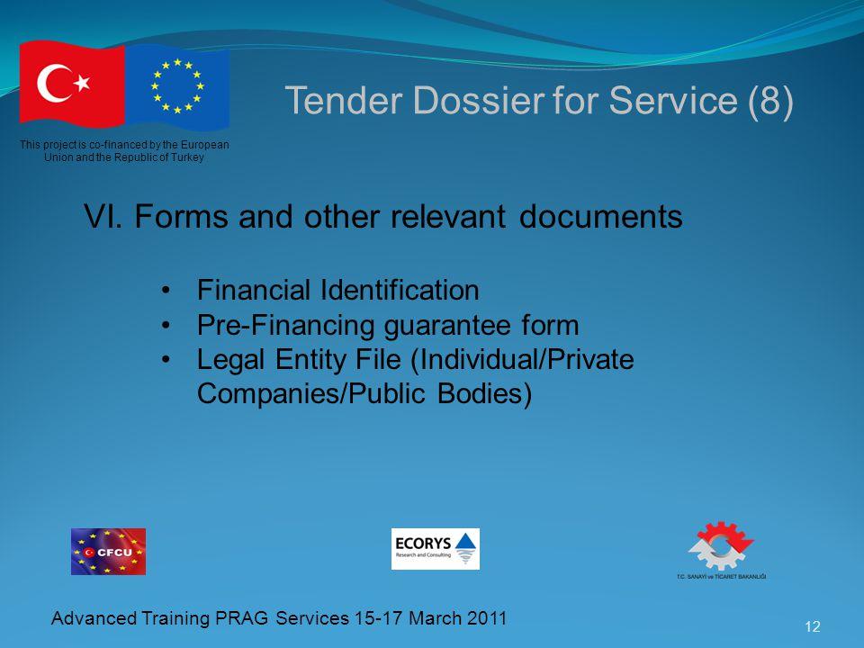 Tender Dossier for Service (8)