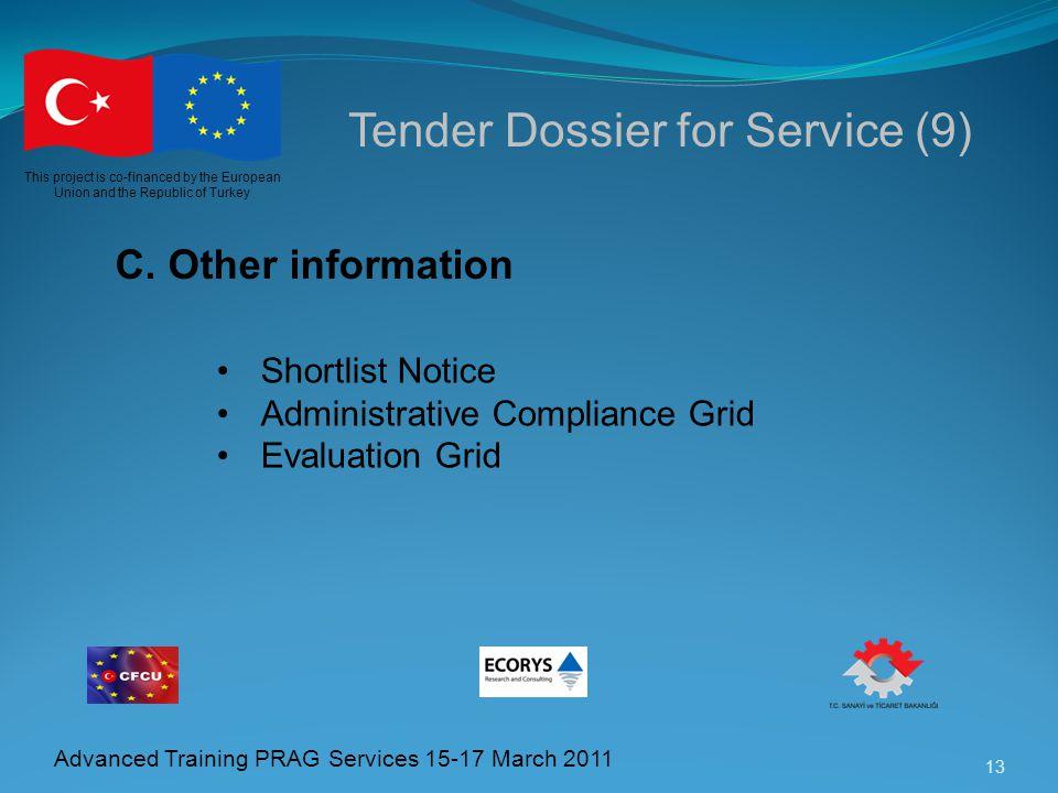 Tender Dossier for Service (9)