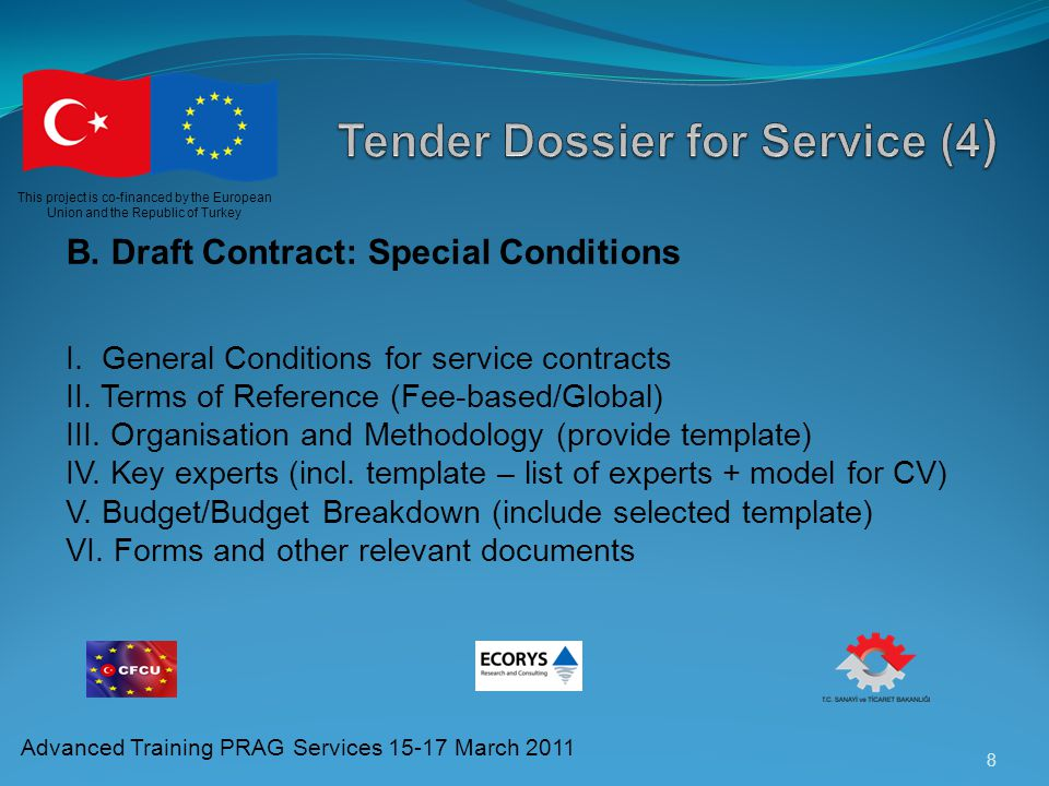 Tender Dossier for Service (4)