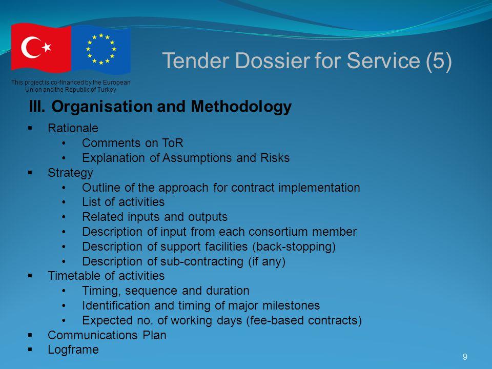 Tender Dossier for Service (5)