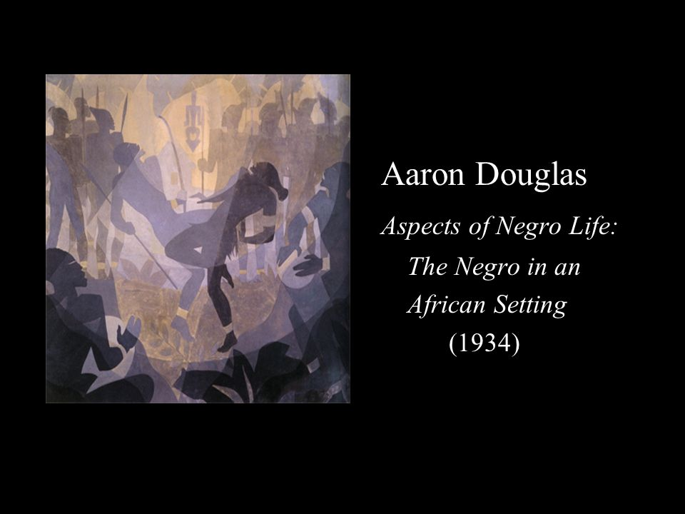 Aaron Douglas Aspects of Negro Life: The Negro in an African Setting