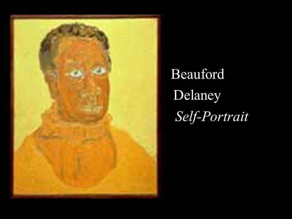 Beauford Delaney Self-Portrait