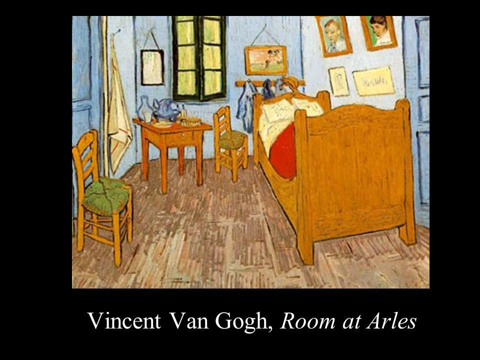Vincent Van Gogh, Room at Arles