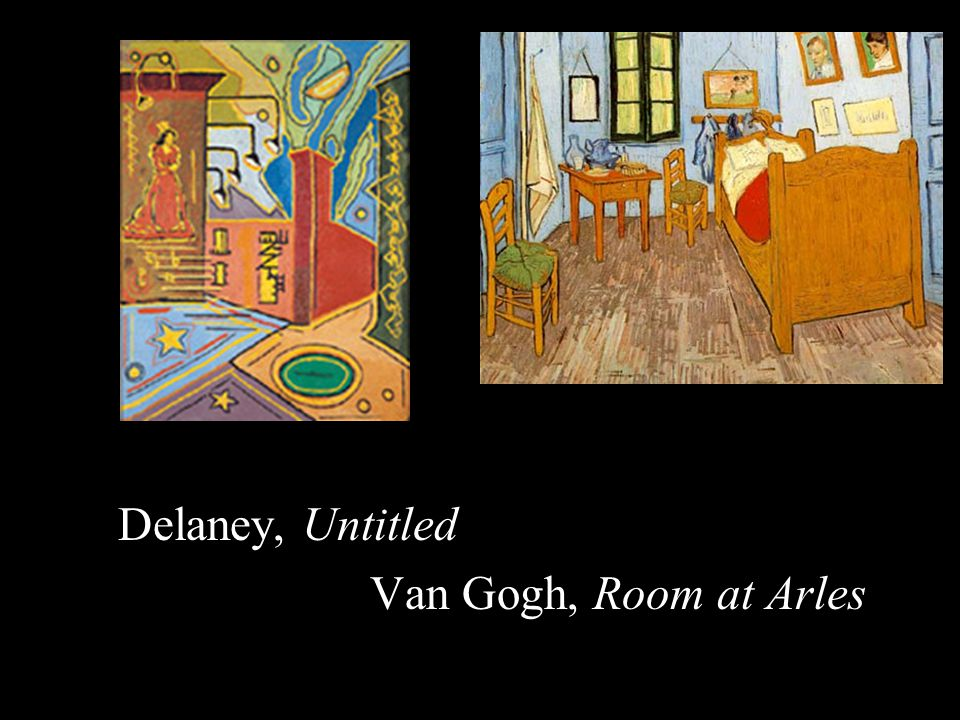 Delaney, Untitled Van Gogh, Room at Arles