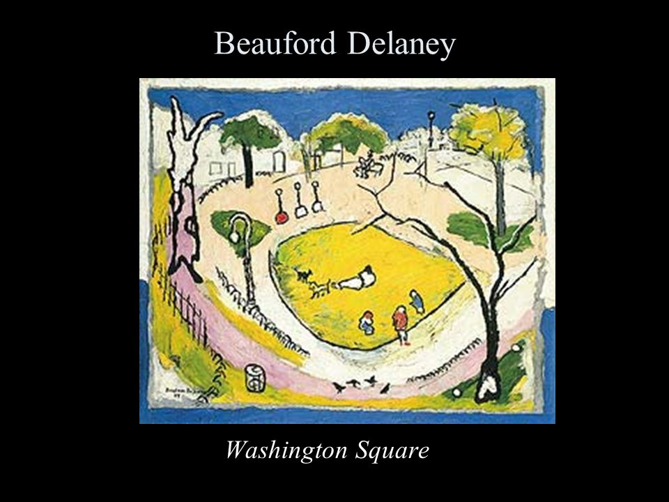 Beauford Delaney Washington Square