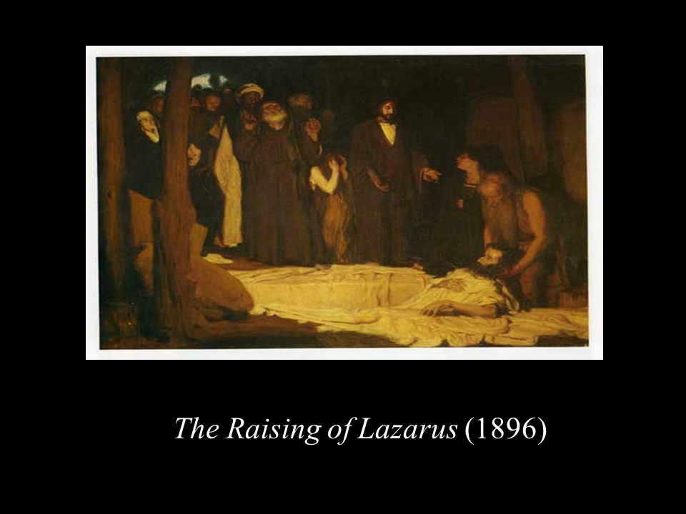 The Raising of Lazarus (1896)