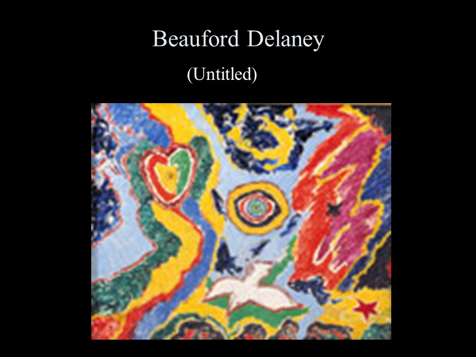 Beauford Delaney (Untitled)
