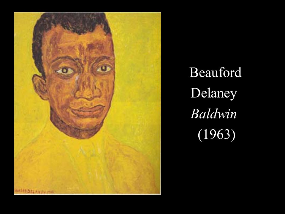 Beauford Delaney Baldwin (1963)