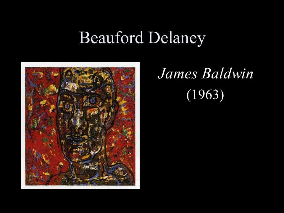 Beauford Delaney James Baldwin (1963)