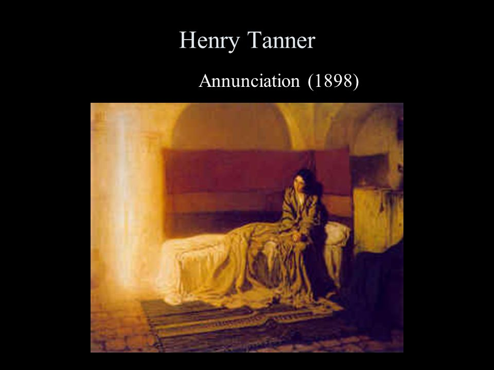 Henry Tanner Annunciation (1898)
