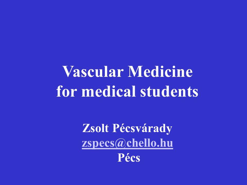 Vascular Medicine for medical students