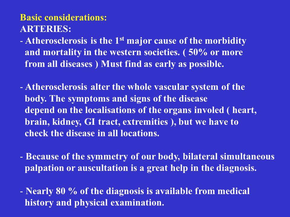 Basic considerations: