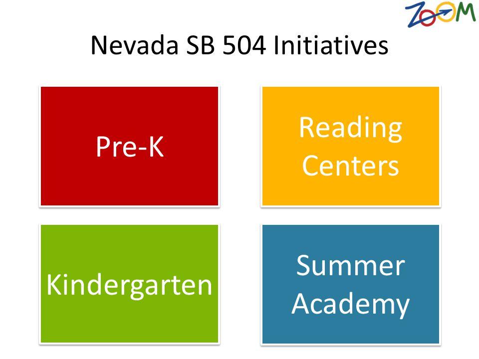 Reading Centers Pre-K Summer Academy Kindergarten