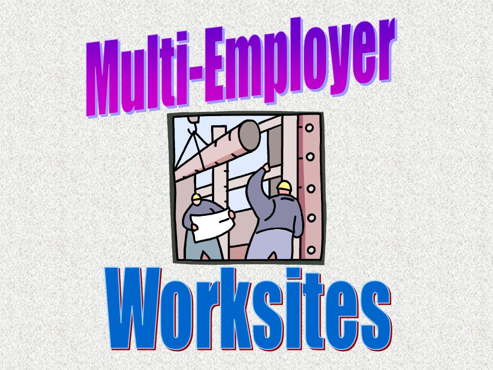 Multi-Employer Worksites