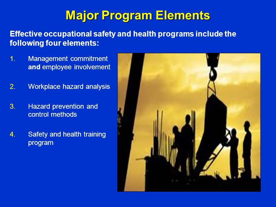 Major Program Elements
