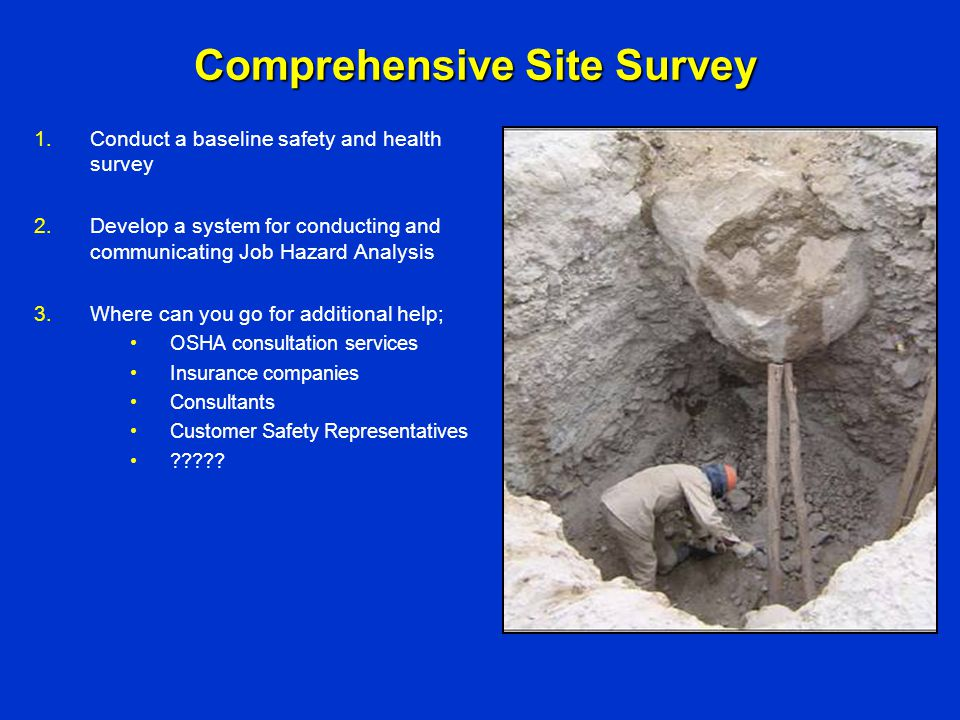 Comprehensive Site Survey