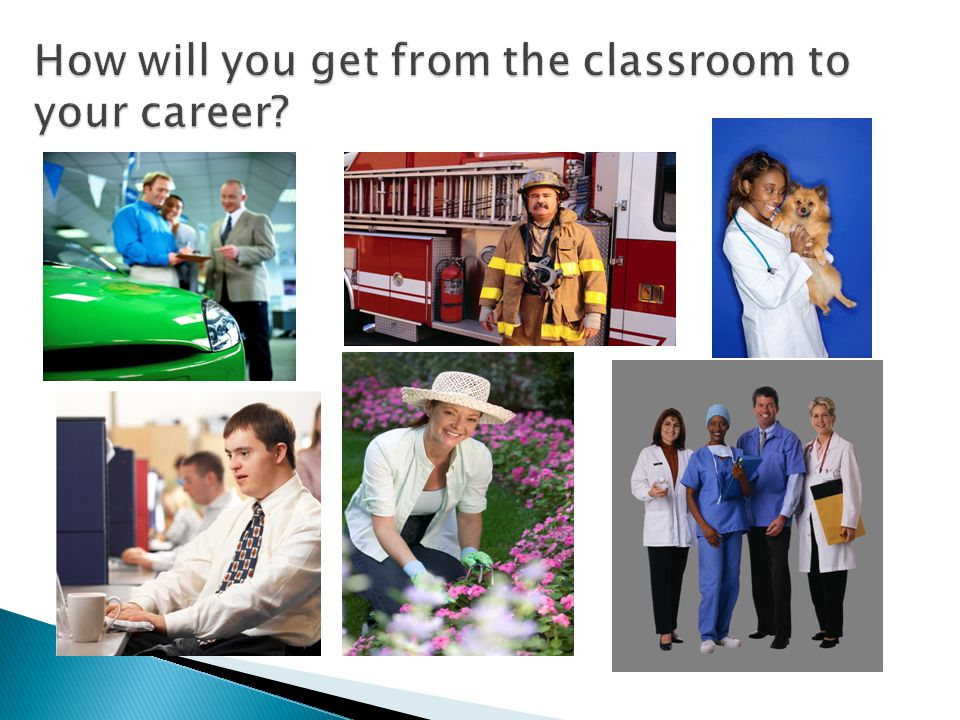 How will you get from the classroom to your career