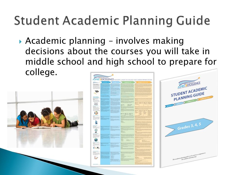 Student Academic Planning Guide
