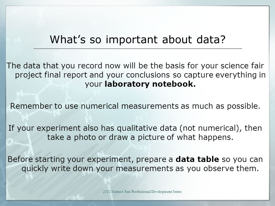 What's so important about data