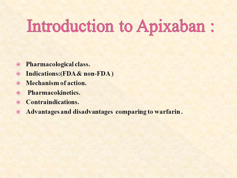 Introduction to Apixaban :