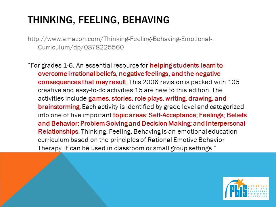 Thinking, feeling, behaving