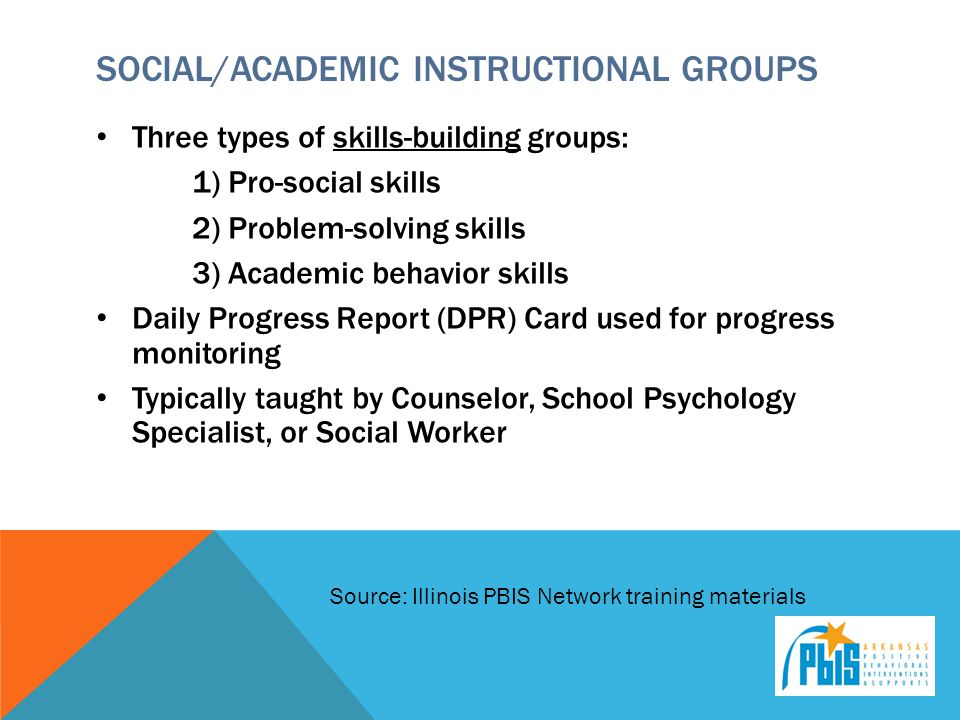 Social/Academic Instructional Groups