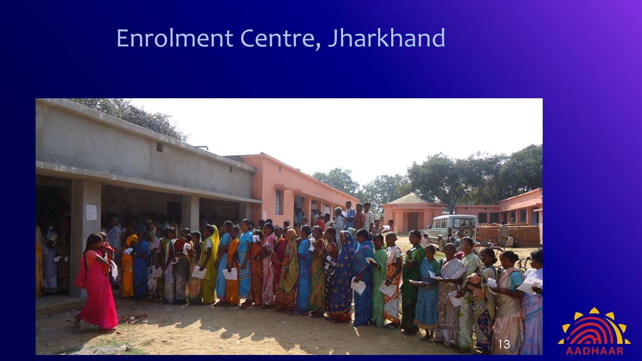 Enrolment Centre, Jharkhand