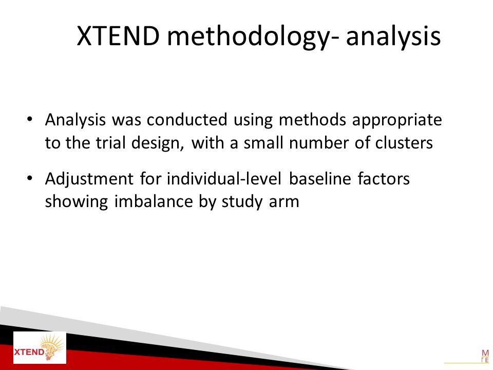 XTEND methodology- analysis
