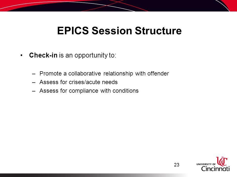 EPICS Session Structure