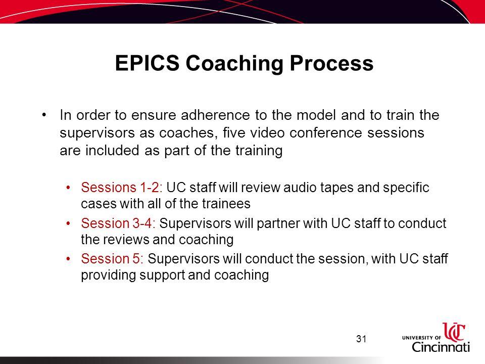 EPICS Coaching Process