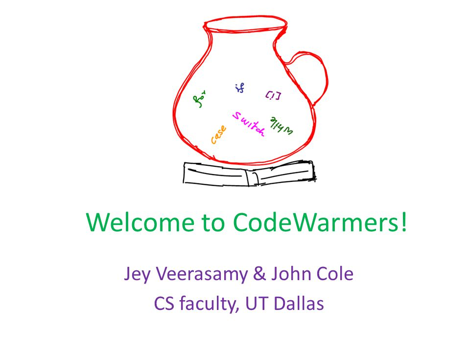 Welcome to CodeWarmers!