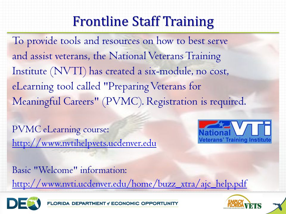 Frontline Staff Training
