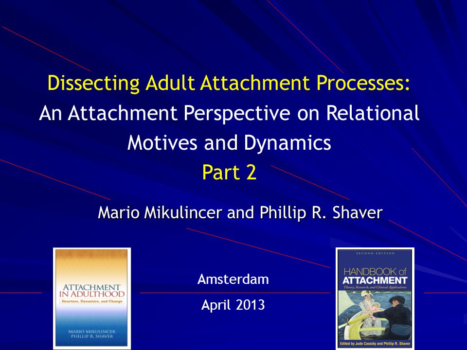 Dissecting Adult Attachment Processes: