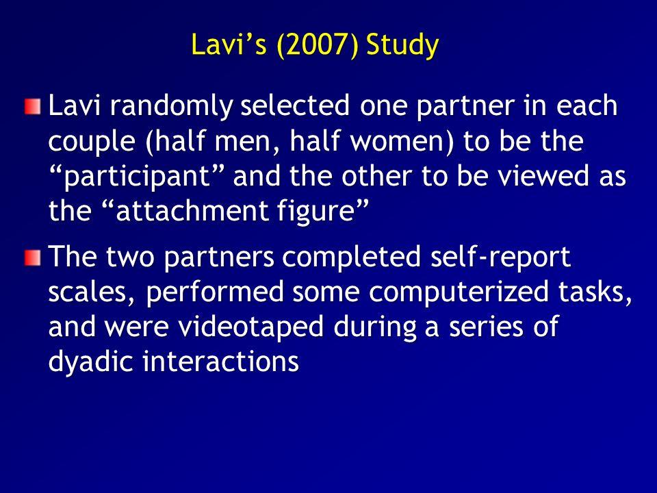 Lavi's (2007) Study