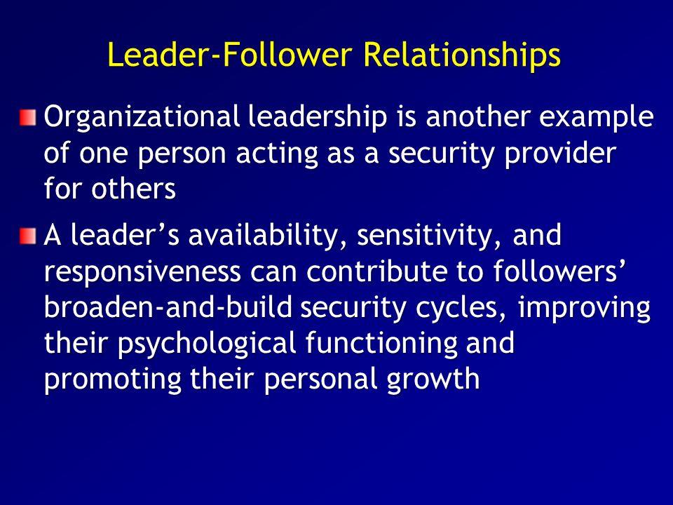 Leader-Follower Relationships
