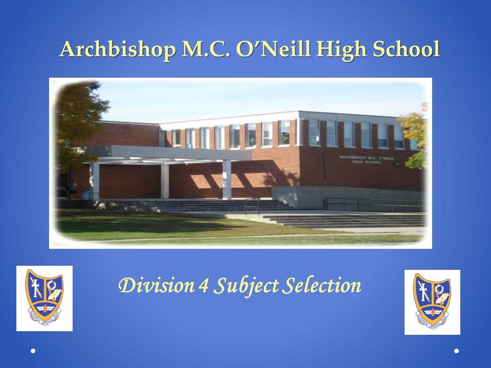 Archbishop M.C. O'Neill High School