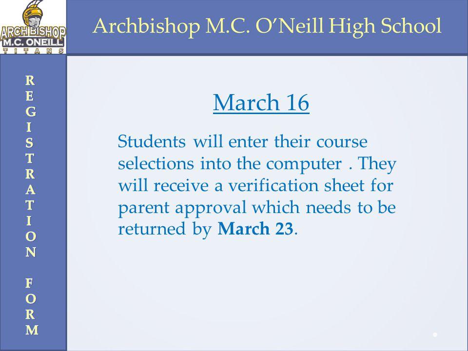 REGISTRATION FORM March 16.