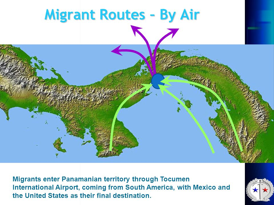Migrant Routes – By Air
