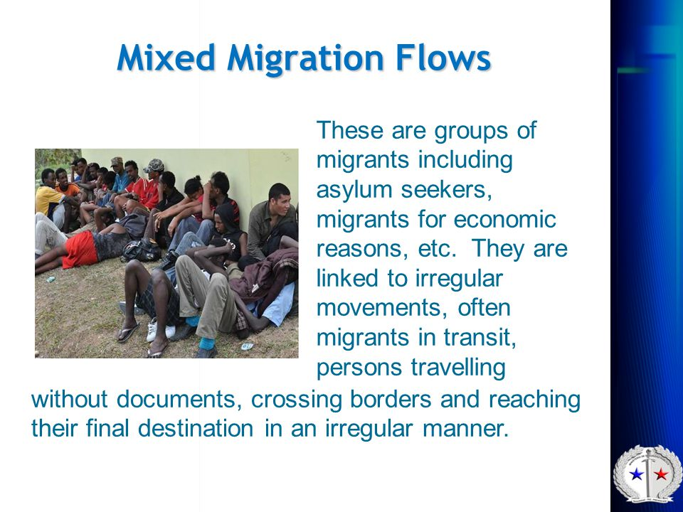 Mixed Migration Flows