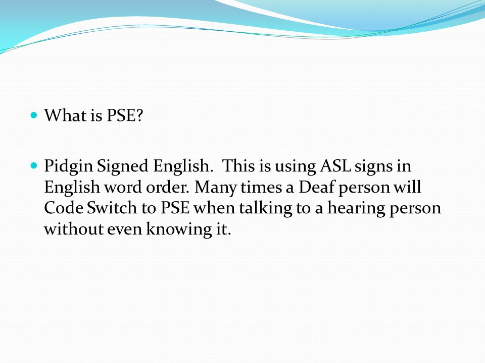 What is PSE