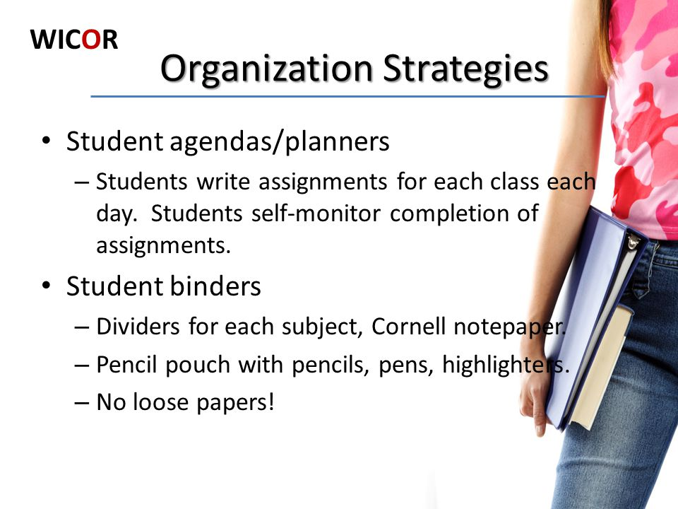 Organization Strategies
