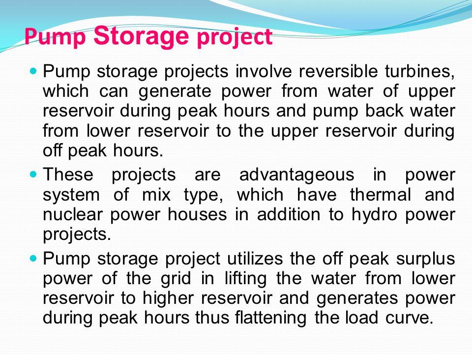Pump Storage project